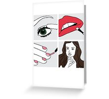 Pretty Little Liars Greeting Card