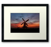The Bombers Are Coming Framed Print