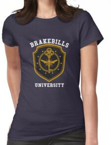 Brakebills University ver.solidtext Womens Fitted T-Shirt
