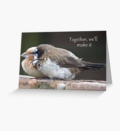 Together We'll Make It Greeting Card