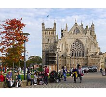 Exeter Cathedral. Devon Uk Photographic Print