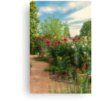 Roses - the Flowers of Love Canvas Print