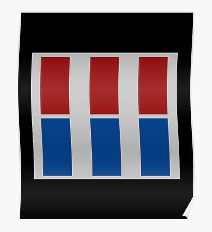 Imperial Officer rank badge  Poster