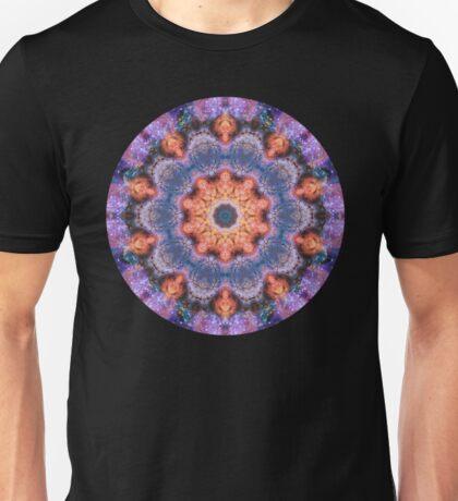 Peach Star Mandala Unisex T-Shirt