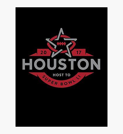 Houston host to Super Bowl Li 2017 Photographic Print