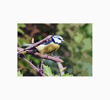 "Birds story, "" fawn paint Picasso ! "" 22 (c) (t) the Blue Tit - Olao-Olavia by Okaio Créations  Unisex T-Shirt"