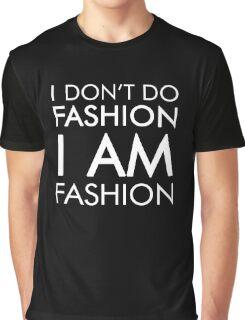 Funny Humor Shopping I Am Fashion Novelty Joke Graphic T-Shirt