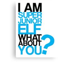 I am Super Junior Elf Canvas Print