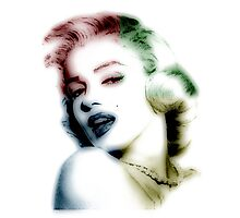 marilyn monroe, colored Photographic Print
