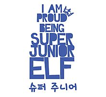 Super Junior ELF Photographic Print