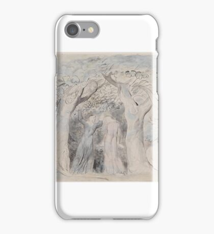 William Blake    Dante and Virgil Penetrating the Forest iPhone Case/Skin