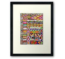 Bohemian lux Framed Print