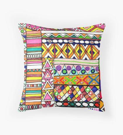 Bohemian lux Throw Pillow