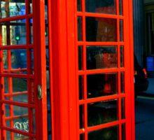 Telephone box, London's traditions Sticker