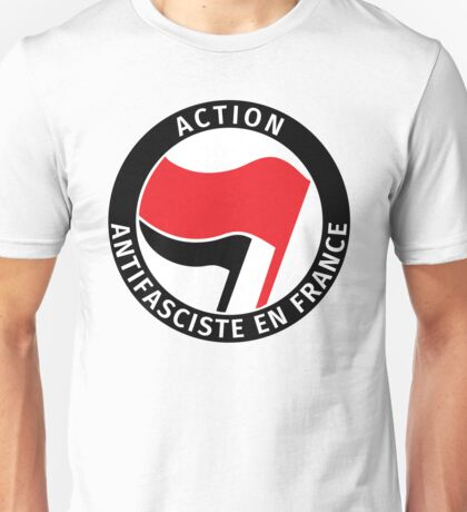 Action Antifasciste en France Unisex T-Shirt
