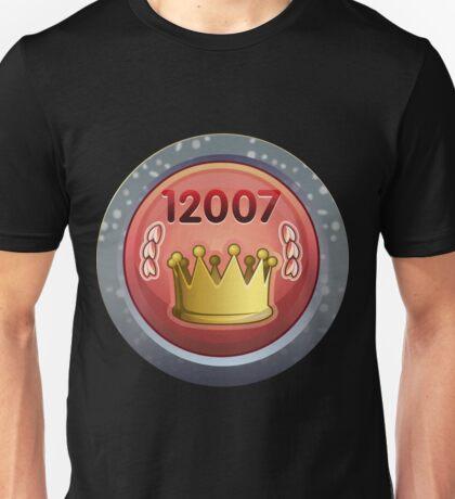 Glitch Achievement kingslayer Unisex T-Shirt