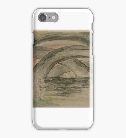 William Blake    The Devils, with Dante and Virgil by the Side of the Pool iPhone Case/Skin
