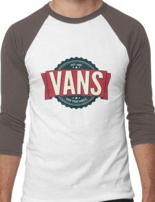 Vans off the Wall Men's Baseball ¾ T-Shirt