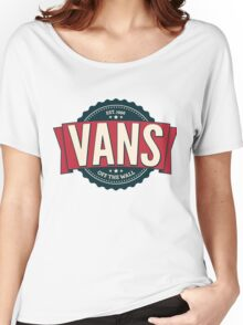 Vans off the Wall Women's Relaxed Fit T-Shirt