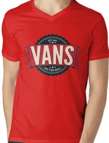 Vans off the Wall Mens V-Neck T-Shirt