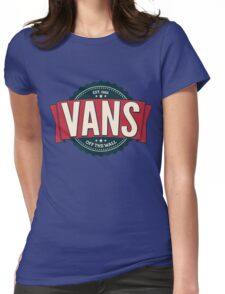 Vans off the Wall Womens Fitted T-Shirt