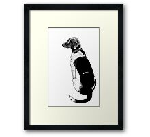 Just A Pup Framed Print