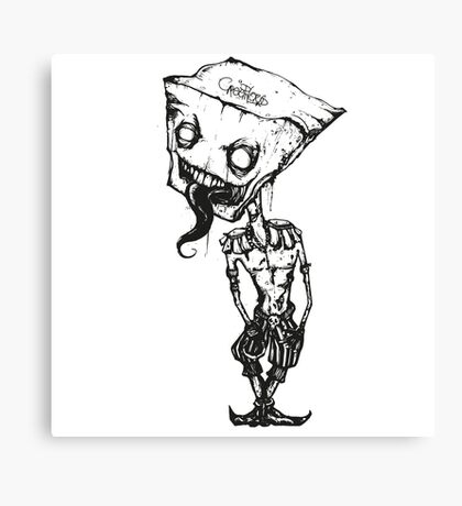 Zombie Inked BSTRD by Mien Wayne Canvas Print