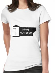 Shoot film Womens Fitted T-Shirt