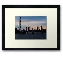 London Lines Framed Print