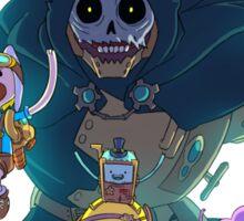 Steampunk Adventure Time Sticker