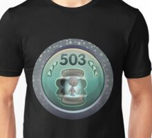 Glitch Achievement licenced teleporter whoa class Unisex T-Shirt