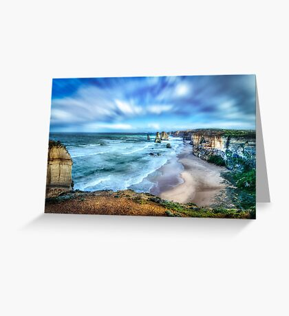 Stormy Apostles Greeting Card