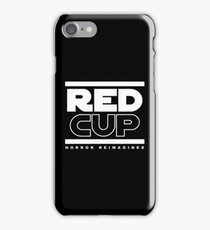 STAR WARS - RED CUP iPhone Case/Skin