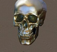 Golden SKULL by DAdeSimone