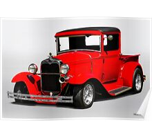 1930-31 Ford Model A Pickup  Poster