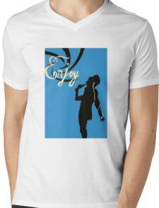 Musical sorrow Mens V-Neck T-Shirt