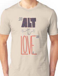 SKAM - Alt er love (Typography) Unisex T-Shirt