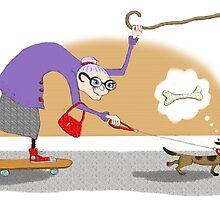 Kazart Super Granny by Karen Sagovac
