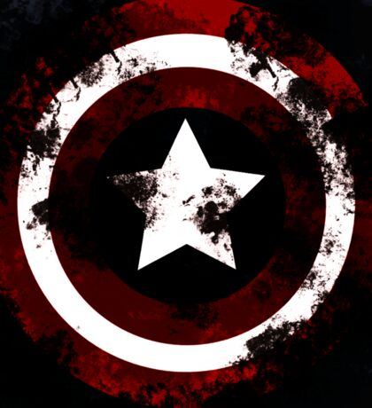 captain shield america Sticker