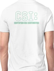 CSI: Certified Sex Instructor T-Shirt