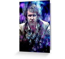 The Fifth Doctor Greeting Card