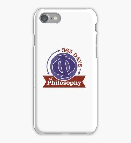 365 Days of Philosophy iPhone Case/Skin