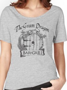The Hobbit Green Dragon Bar & Grill Shirt T-Shirt Women's Relaxed Fit T-Shirt