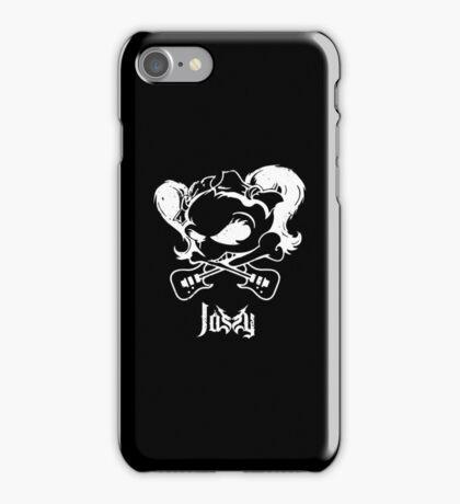 Jassy JJ's One Girl Band - WHITE SKULL by Mien Wayne iPhone Case/Skin