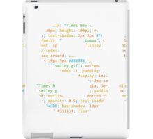 CSS iPad Case/Skin