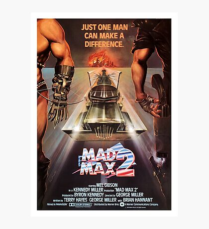Mad Max 2: The Road Warrior Photographic Print