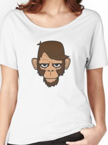 Monkey Hipster Women's Relaxed Fit T-Shirt