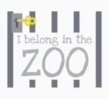 I belong in the ZOO by jazzydevil