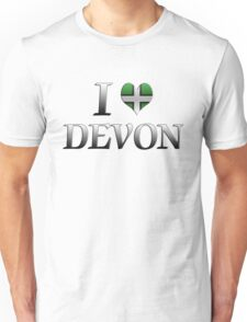 I Love Devon T-Shirt