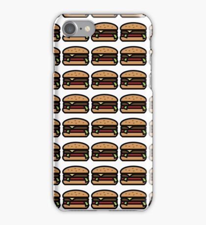 Cheese Burger Graphic Pattern iPhone Case/Skin